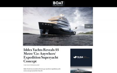 Iddes Yachts Reveals 55 Metre 'Go-Anywhere' Expedition Superyacht Concept