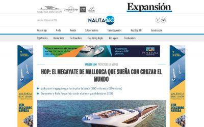 HOP: El megayate de mallorca que sueña con cruzar el mundo