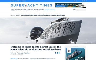 Welcome to Iddes Yachts newest vessel_ the 300m scientific exploration vessel Earth300