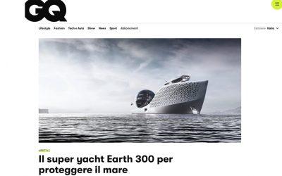 Il super yacht Earth 300 per proteggere il mare