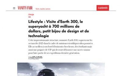 Visite d'Earth 300, le superyacht à 700 millions de dollars, petit bijou de design et de technologie